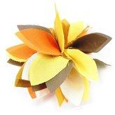 Les Trésors De Lily Pin creator 'Rose Féérique' brown.