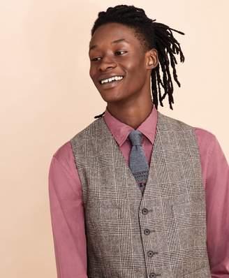 Brooks Brothers Plaid Twill Wool Vest