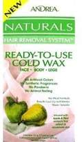 Andrea Naturals Ready To Use Cold Wax Apple Pear 150 ml (Case of 6)