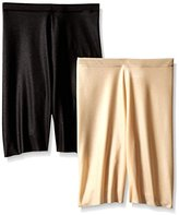 Flexees Women's Maidenform Shapewear Slimmer AM1565 (Pack of 2)