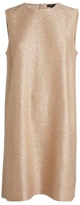 St. John Embellished Knit Mini Dress