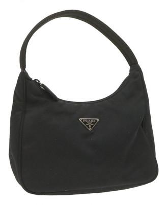 Prada Black Tweed Clutch bags