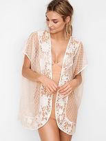 Victoria's Secret Victorias Secret Macrame Lace Mix Kimono