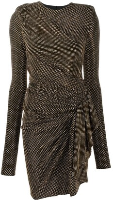 Alexandre Vauthier Stud Detail Mini Dress