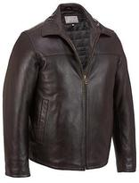 Wilsons Leather Mens Big & Tall Fully Lined Open Bottom Leather Jacket