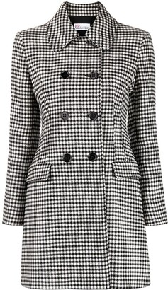 RED Valentino Double-Breasted Short Coat