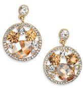 ABS by Allen Schwartz Cluster Drop Earrings