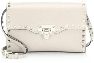 Valentino Garavani Small Rockstud Leather Crossbody Bag