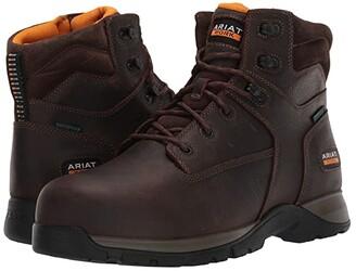 Ariat Edge LTE 6 Waterproof Composite Toe Work Boot (Dark Brown) Men's Work Boots