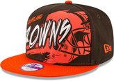 New Era Boys' Cleveland Browns Graffiti 9FIFTY Snapback Cap