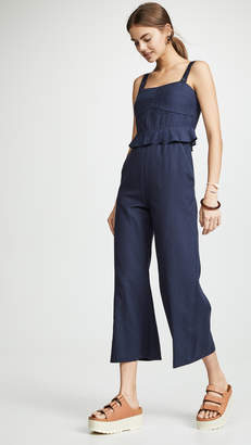 Sea O'Keefe Quilted Corset Jumpsuit