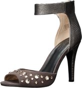 Seychelles Elevate Women US 10 Gray Slingback Heel