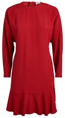 RED Valentino Long-Sleeved Mini Dress