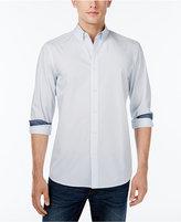 Michael Kors Men's Theo Diamond-Pattern Shirt