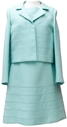 Ted Lapidus Green Wool Dresses