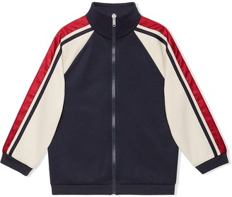 Gucci Kids GG stripe track jacket