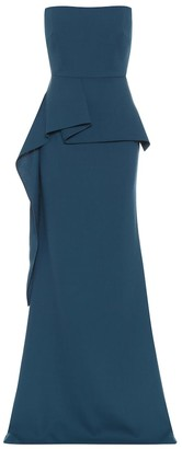 Roland Mouret Exclusive to Mytheresa Adrienne wool-crepe gown