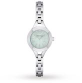 Emporio Armani Ladies Silver Steel Bracelet Watch AR7416