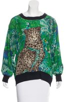Salvatore Ferragamo Silk Printed Top