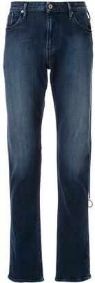 Emporio Armani Faded Detail Jeans
