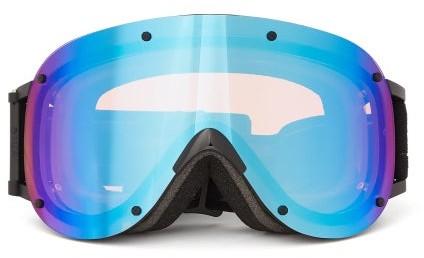 YNIQ Model Four Ski Goggles - Black Blue