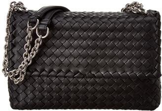 Bottega Veneta Olimpia Small Intrecciato Nappa Leather Shoulder Bag