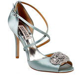 Badgley Mischka Sari Cross-Strap Sandals