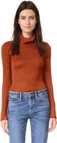 Alice + Olivia Billi Slim Turtleneck Sweater