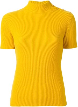 Chanel Pre-Owned 1996 cashmere buttoned knitted top