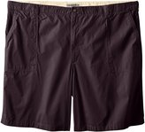 Geoffrey Beene Men's Big & Tall Pork Chop Ripstop Extended Waist Short