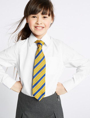 Marks and Spencer 2 Pack Girls' Pure Regular Fit Cotton Blouses