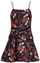 Derek Lam 10 Crosby Floral Camisole Flounce Mini Dress