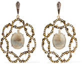 Loree Rodkin 18-karat Gold, Sapphire And Diamond Earrings
