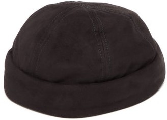 Lock & Co Hatters Dover Goatskin-suede Watch Cap - Mens - Black