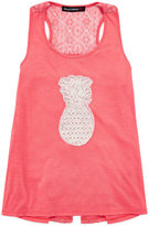 Almost Famous Appliqu Racerback Tank Top - Girls 7-16