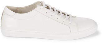 Kenneth Cole Leather Cap Toe Sneakers