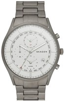 Skagen 'Holst' Titanium Chronograph Bracelet Watch, 40mm