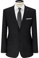 Daniel Hechter Textured Tailored Fit Suit Jacket, Charcoal