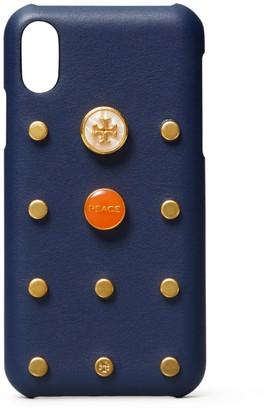 Tory Burch Studded Phone Case iPhone X/XS