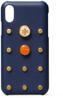 Tory Burch STUDDED PHONE CASE IPHONE X/XS