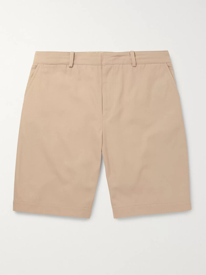 Beams + Kaptain Sunshine Cotton-Twill Shorts