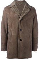 Eleventy single breasted coat - men - Sheep Skin/Shearling - 46