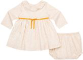 Marie Chantal Pansy Print Dress