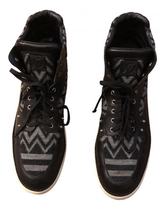 Louis Vuitton Black Leather Boots
