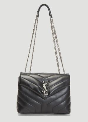 Saint Laurent Loulou Small Matelasse Shoulder Bag
