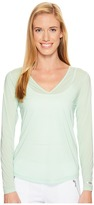 Jamie Sadock - Sunsence Lightweight Long Sleeve Layering Under Garment Top with UVP 30 Women's Long Sleeve Pullover