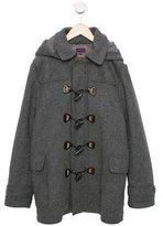 Paul Smith Boys' Hooded Wool Coat
