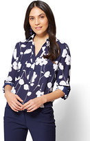 New York & Co. 7th Avenue - Madison Soft Shirt - Floral