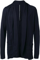 Attachment raw edge cardigan - men - Cotton - III