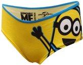 WebUndies.com Despicable Me Minions Yellow Panty for women